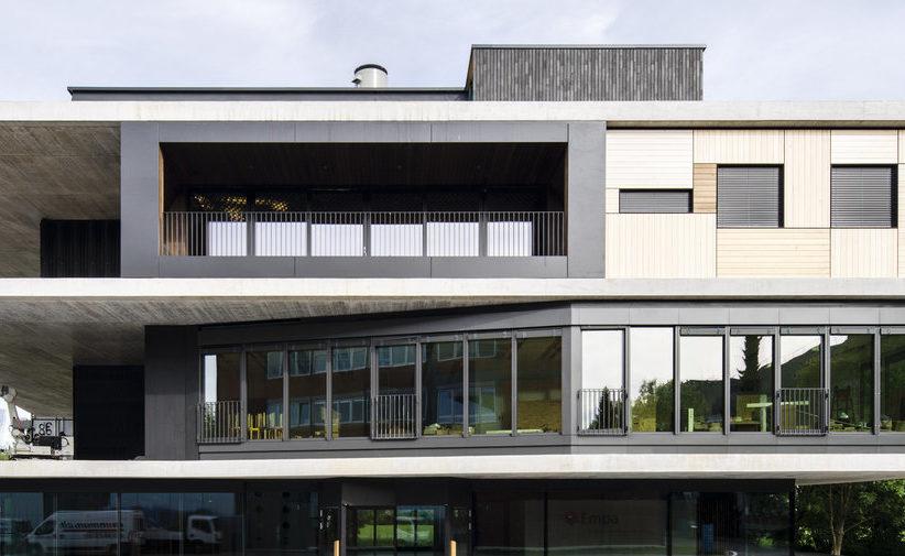 Un édifice pour tester l'habitat du futur
