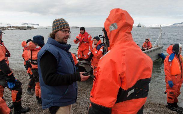Sébastien Barrault, un Valaisan chef de base dans l'Arctique