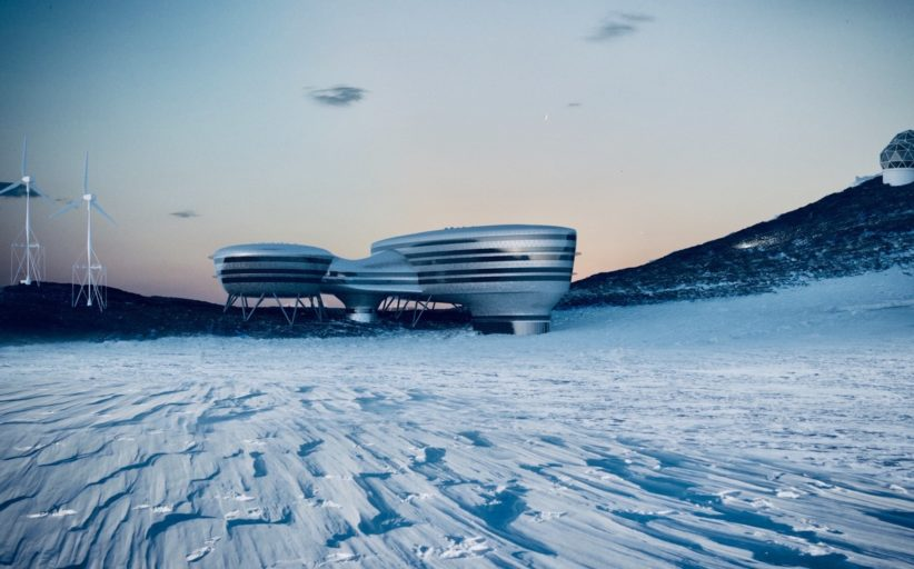 Andromeda: une nouvelle station «zero émission» en Antarctique, sous égide scientifique suisse