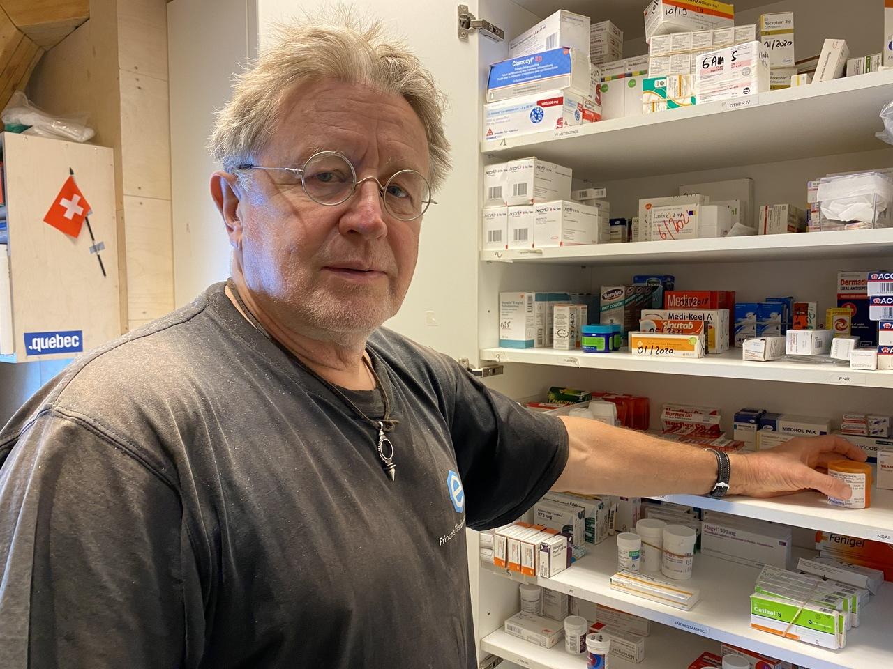 Jacques Richon, médecin urgentiste valaisan, éloigné de tout en Antarctique, raconte son quotidien