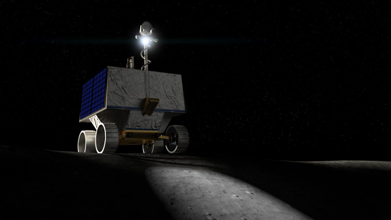 La Nasa veut envoyer un robot «chercheur d'eau» sur la Lune en 2022